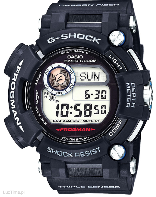 Casio Frogman Master Of G