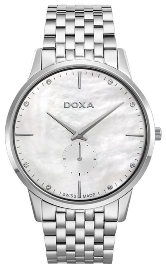 Zegarek męski Doxa slim line 105.10.051D.10 - duże 1