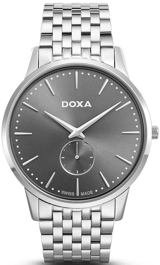 Zegarek męski Doxa slim line 105.10.101.10 - duże 1