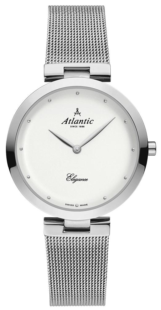 Zegarek damski Atlantic elegance 29036.41.21MB - duże 1
