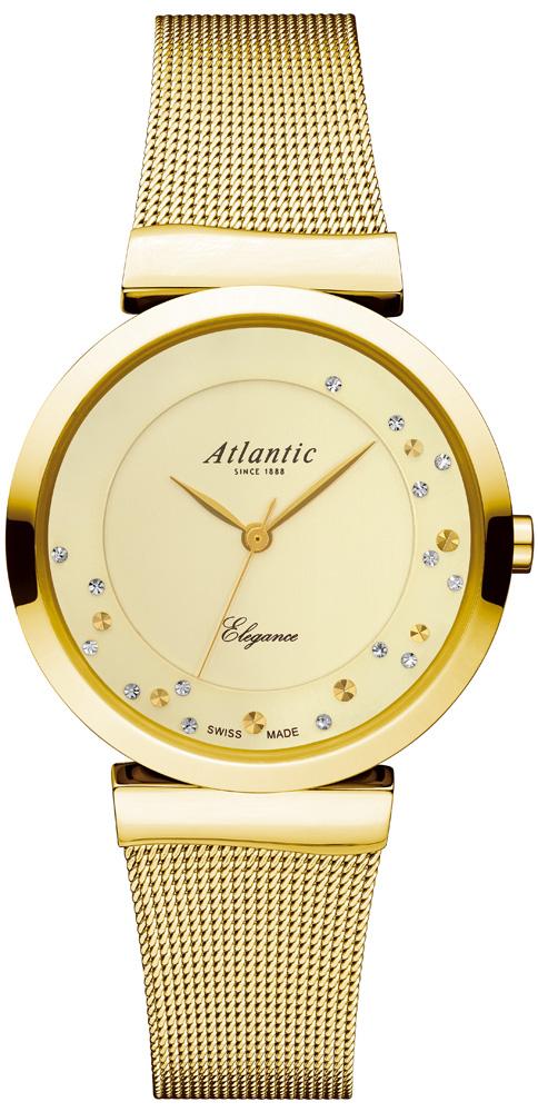 Zegarek damski Atlantic elegance 29039.45.39MB - duże 1