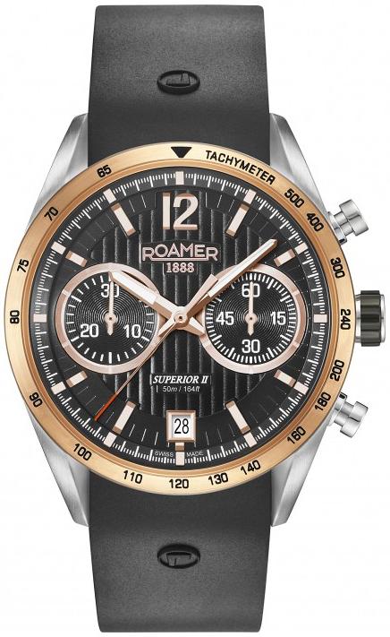 Zegarek męski Roamer superior 510902 39 54 05 - duże 1