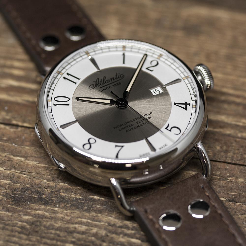 Zegarek męski Atlantic worldmaster 57750.41.25B - duże 1
