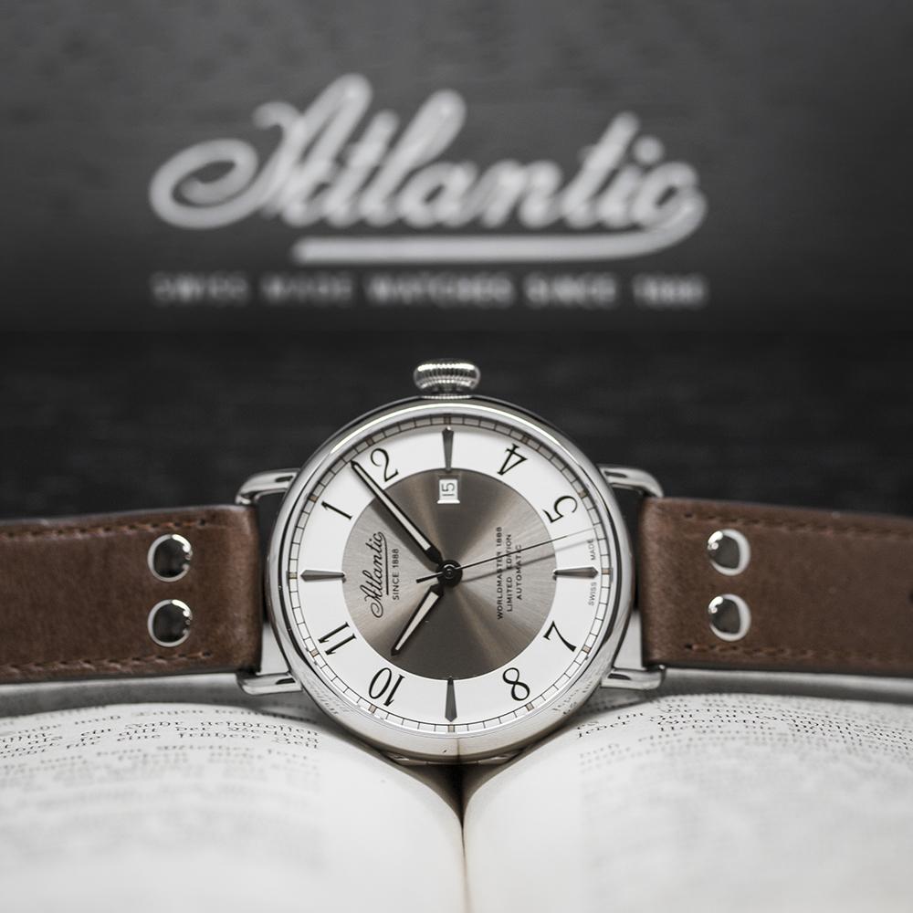 Zegarek męski Atlantic worldmaster 57750.41.25B - duże 2