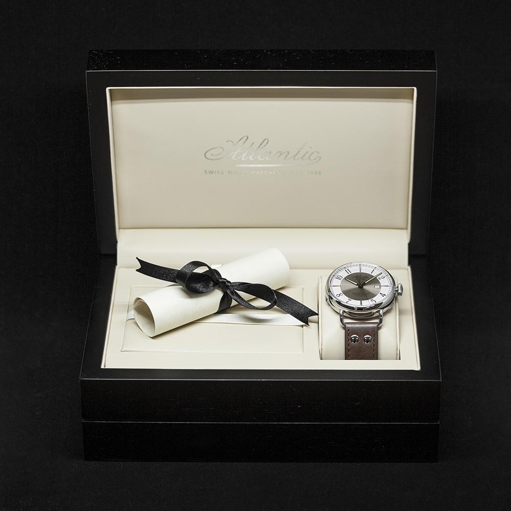 Zegarek męski Atlantic worldmaster 57750.41.25B - duże 4