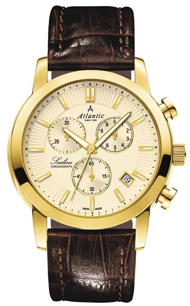Zegarek męski Atlantic sealine 62450.45.31 - duże 1