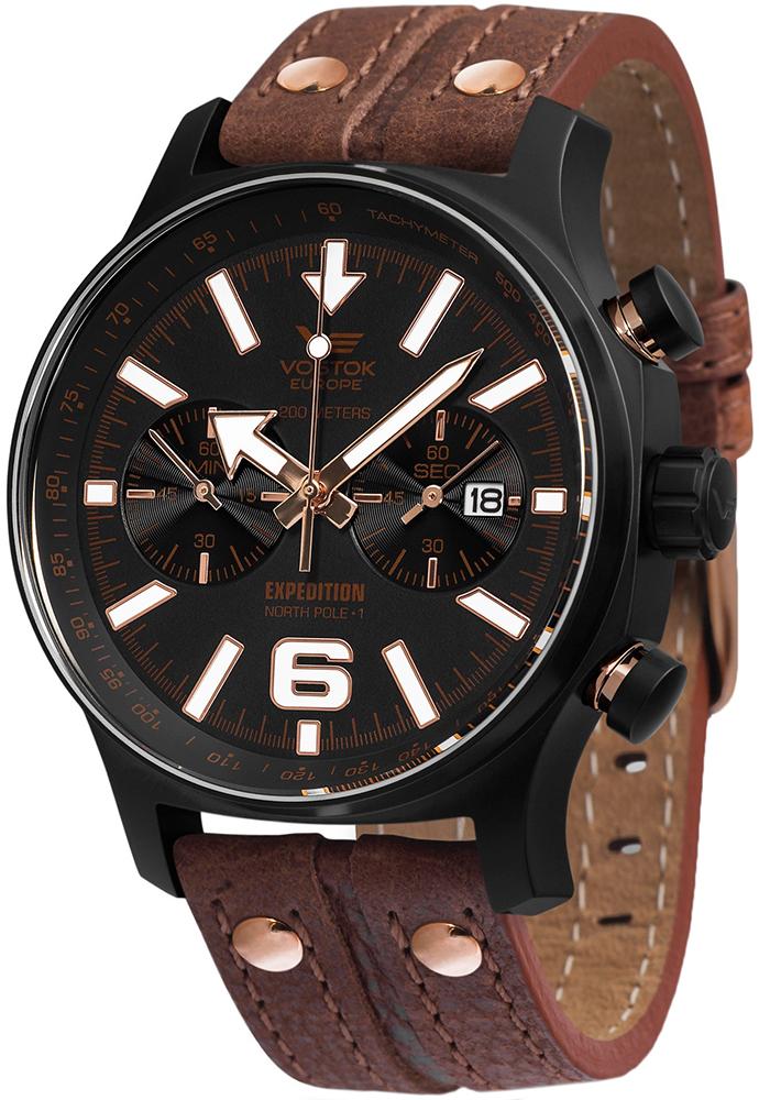 Zegarek męski Vostok Europe expedition 6S21-5953230 - duże 1