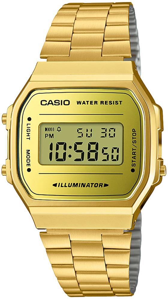 Zegarek męski Casio casio retro maxi A168WEGM-9EF - duże 1