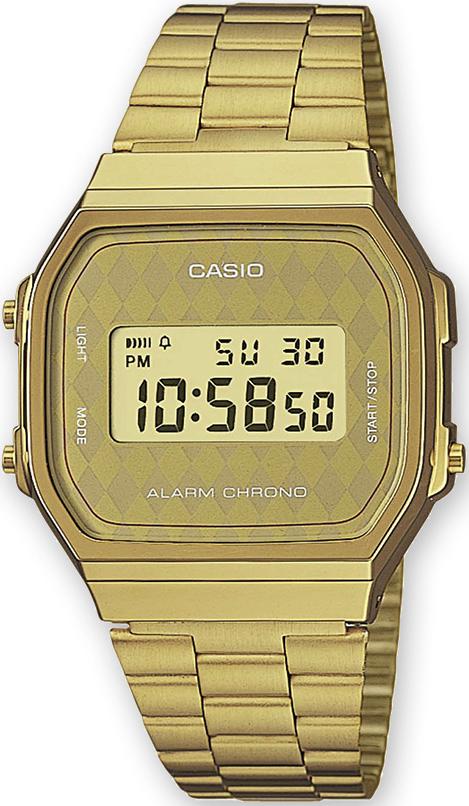 Zegarek męski Casio vintage maxi A168WG-9BWEF - duże 1