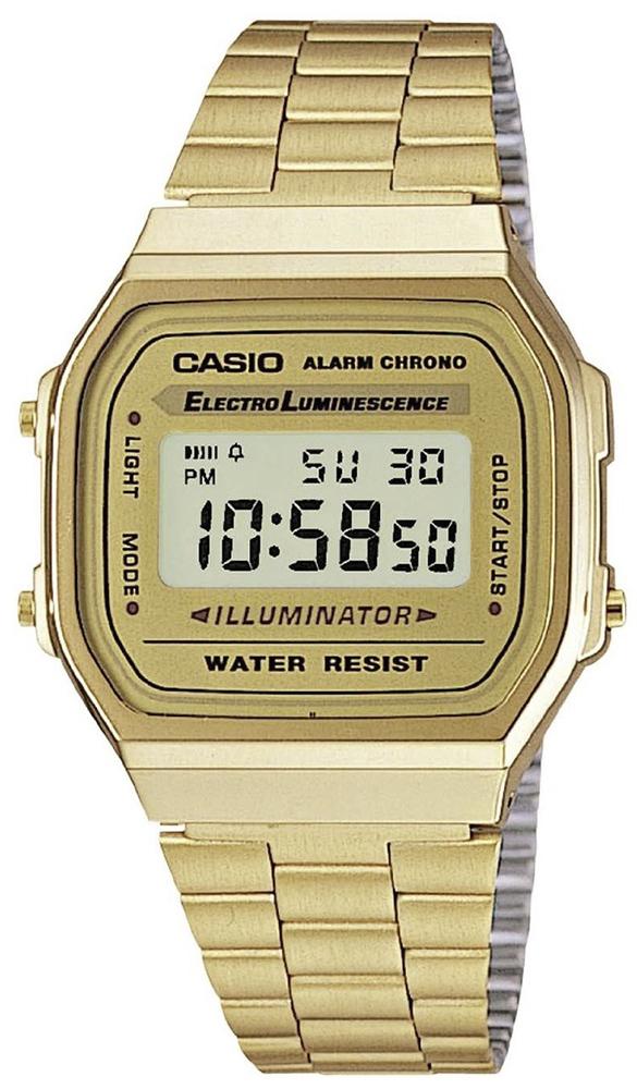 Zegarek męski Casio casio retro maxi A168WG-9EF - duże 1