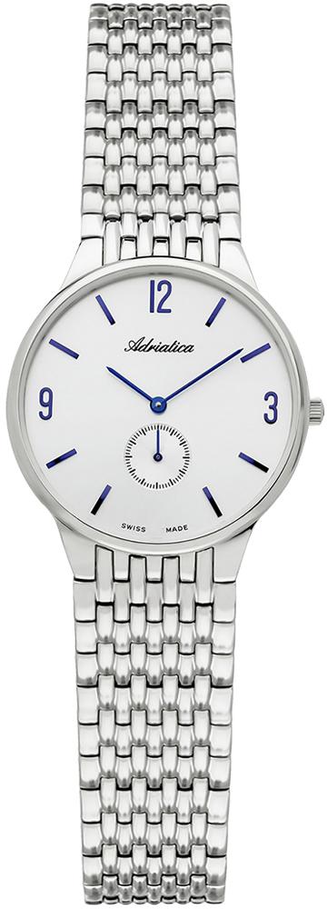 Zegarek damski Adriatica bransoleta A3129.51B3Q - duże 1