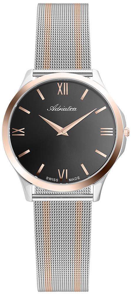 Zegarek damski Adriatica bransoleta A3141.R166Q - duże 1