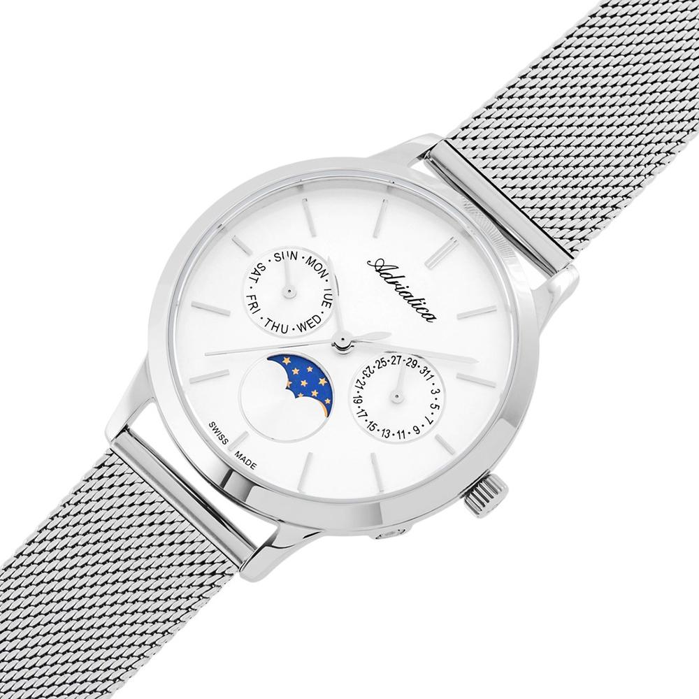 Zegarek damski Adriatica bransoleta A3174.5113QF - duże 2