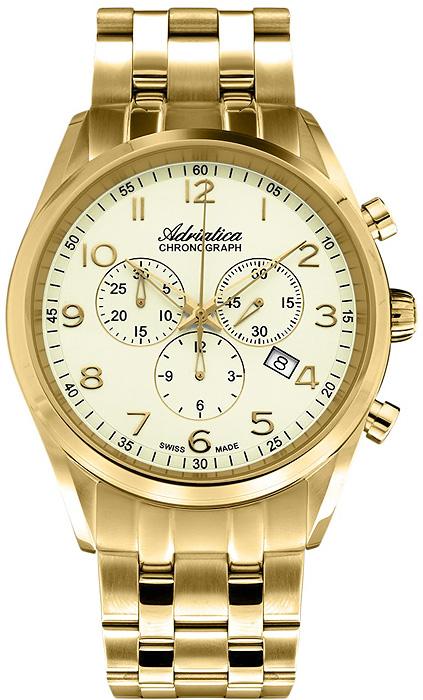 Zegarek męski Adriatica bransoleta A8204.1121CH - duże 1
