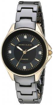 Zegarek damski Anne Klein AK-2390BKGB