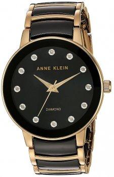 Zegarek damski Anne Klein AK-2672BKGB