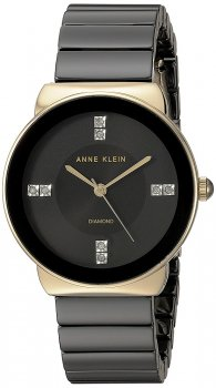 Zegarek damski Anne Klein AK-2714BKGB