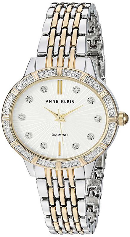 Zegarek damski Anne Klein bransoleta AK-2783SVTT - duże 1