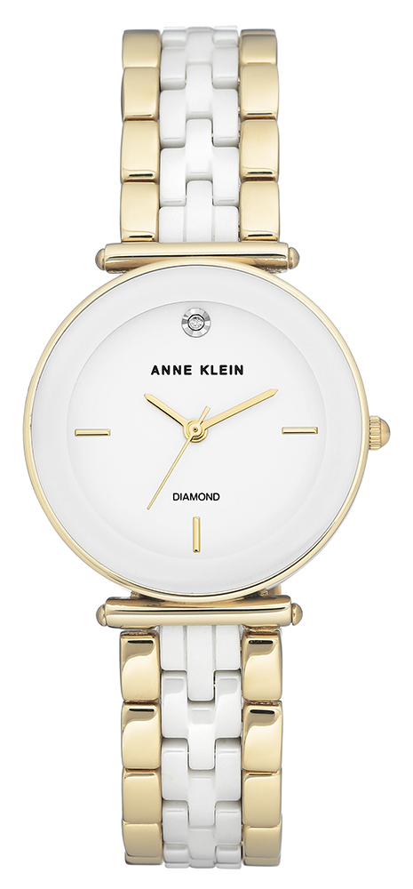 Zegarek damski Anne Klein bransoleta AK-3158WTGB - duże 1