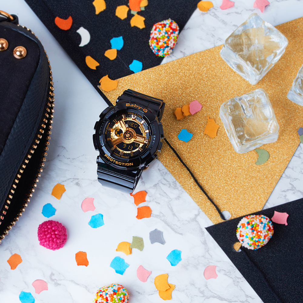 Zegarek damski Casio baby-g BA-110-1AER - duże 1