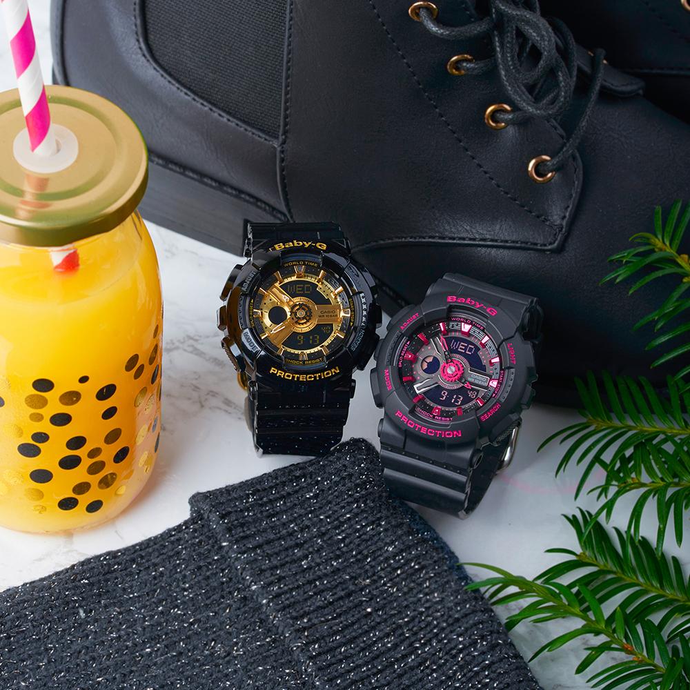 Zegarek damski Casio baby-g BA-110-1AER - duże 2