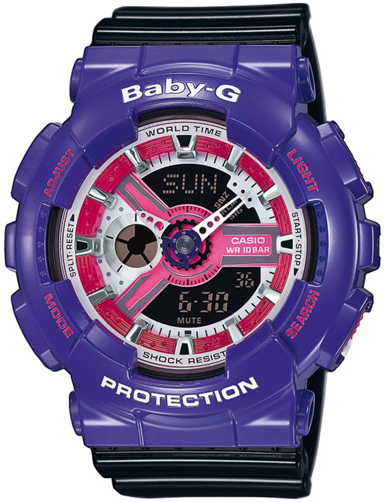 Zegarek damski Casio baby-g BA-110NC-6AER - duże 1