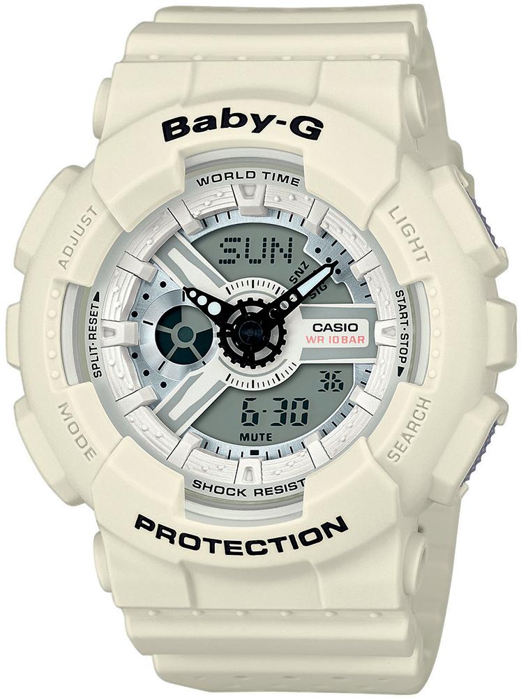 Zegarek damski Casio baby-g BA-110PP-7AER - duże 1