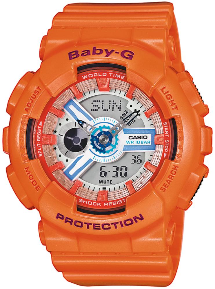 Zegarek damski Casio baby-g BA-110SN-4AER - duże 1