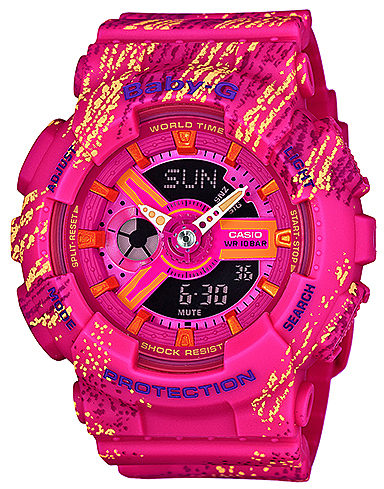 Zegarek damski Casio baby-g BA-110TX-4AER - duże 1