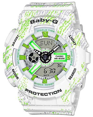 Zegarek damski Casio baby-g BA-110TX-7AER - duże 1