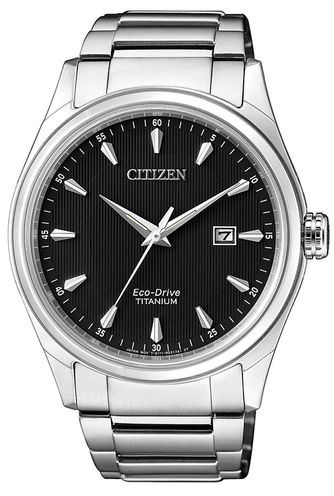 Zegarek męski Citizen titanium BM7360-82E - duże 1