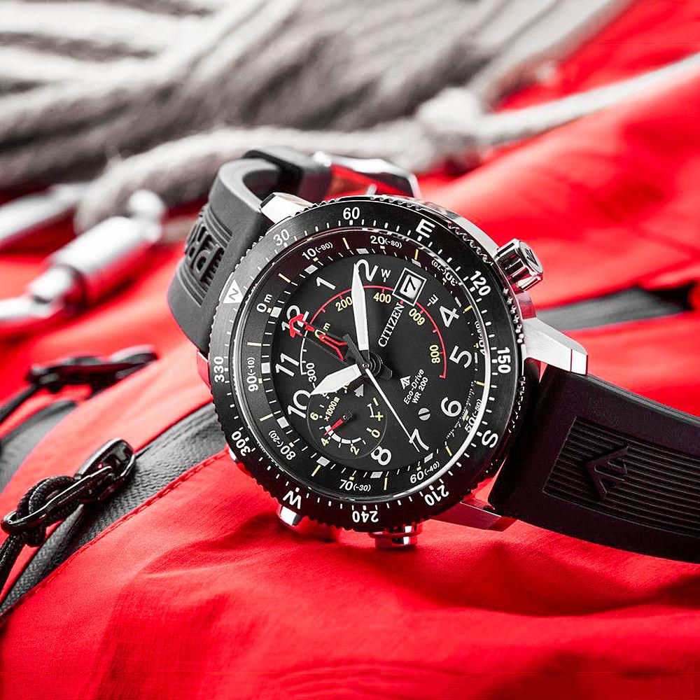 Zegarek męski Citizen promaster BN4044-15E - duże 6