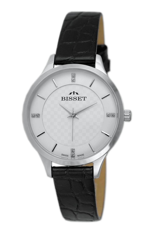 Zegarek damski Bisset klasyczne BSAE58SISX03BX - duże 1