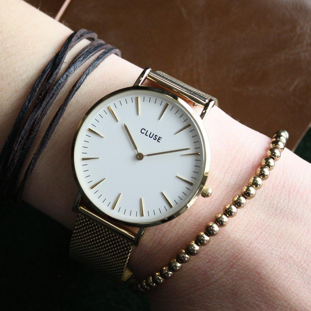 Zegarek damski Cluse boho chic CW0101201009 - duże 6
