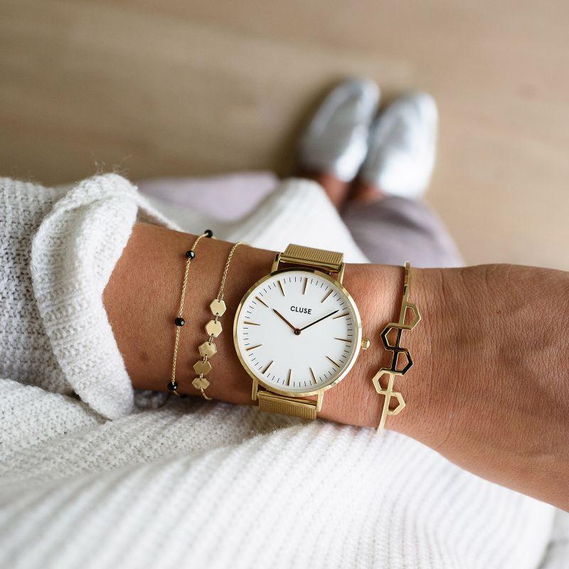 Zegarek damski Cluse boho chic CW0101201009 - duże 5