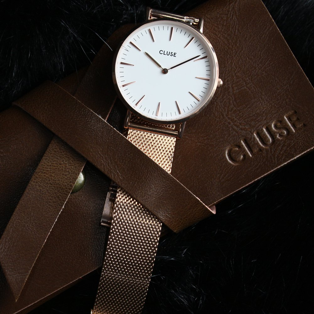 Zegarek damski Cluse boho chic CW0101201001 - duże 5