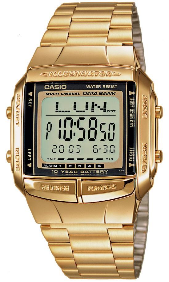 Zegarek męski Casio vintage maxi DB-360GN-9AEF - duże 1