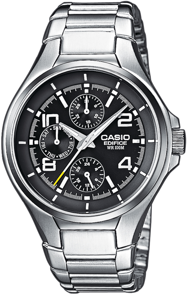 Zegarek męski Casio edifice momentum EF-316D-1A - duże 1