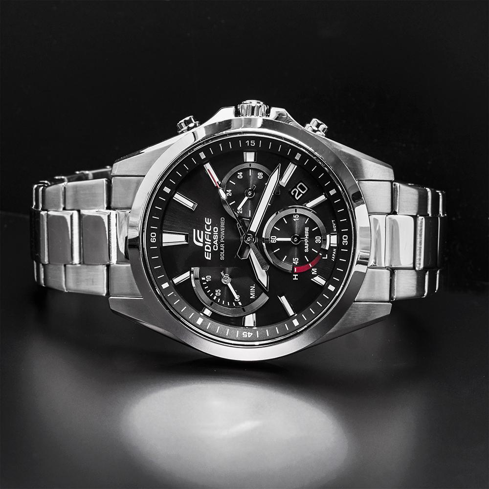 Zegarek męski Casio edifice premium EFS-S530D-1AVUEF - duże 3