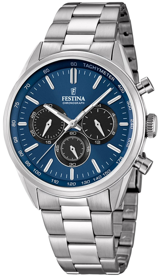 Zegarek męski Festina chronograf F16820-6 - duże 1