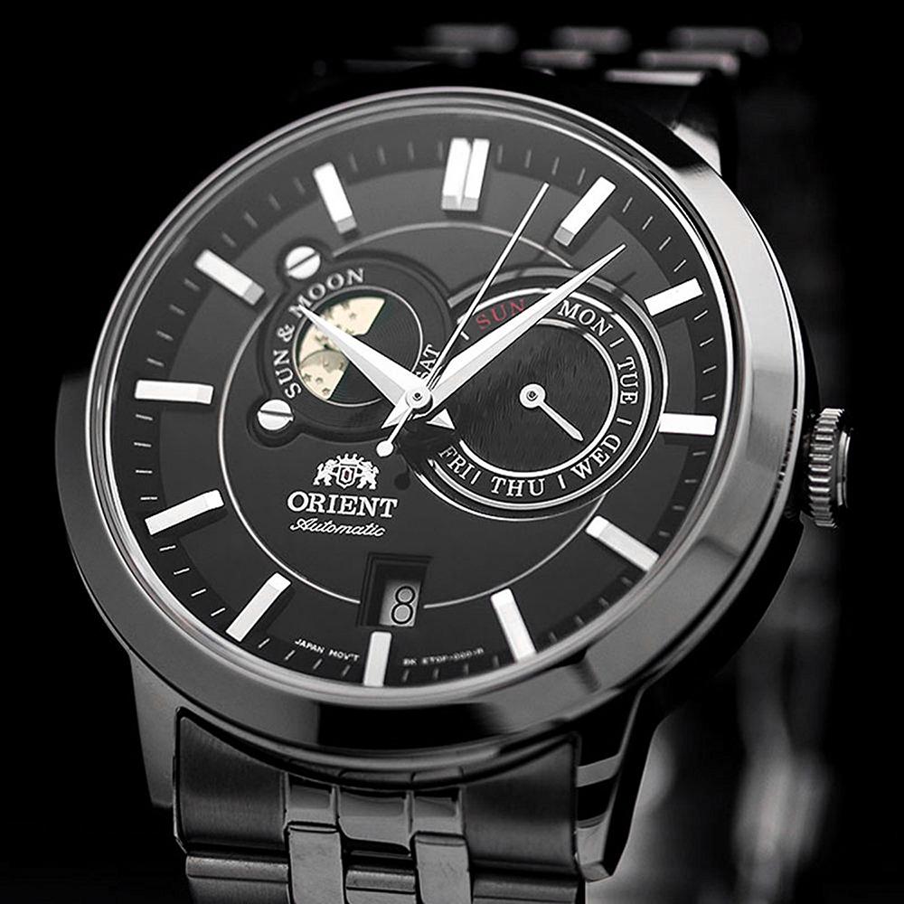 Zegarek męski Orient classic automatic FET0P002B0 - duże 5