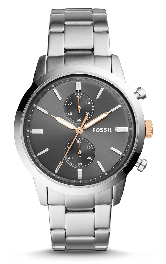 Zegarek męski Fossil townsman FS5407 - duże 1