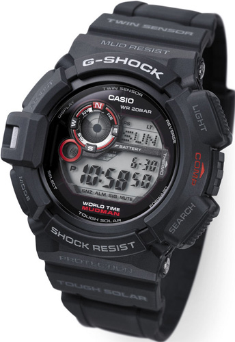 Zegarek męski Casio g-shock master of g G-9300-1ER - duże 1
