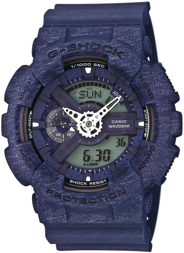 Zegarek męski Casio g-shock original GA-110HT-2AER - duże 1