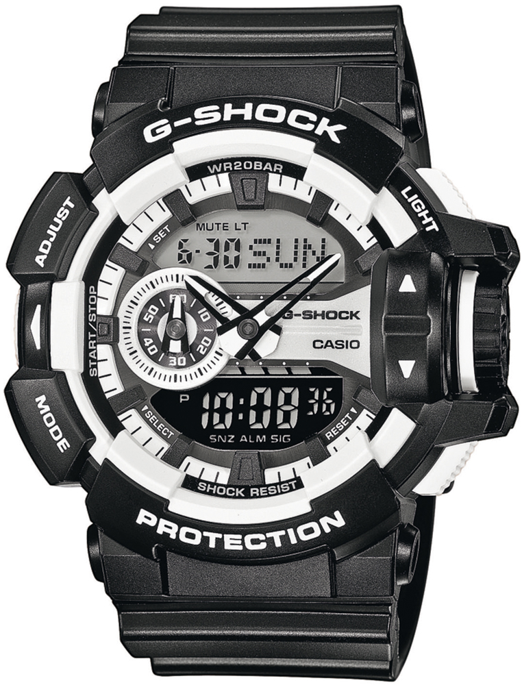 Zegarek męski Casio g-shock original GA-400-1AER - duże 1