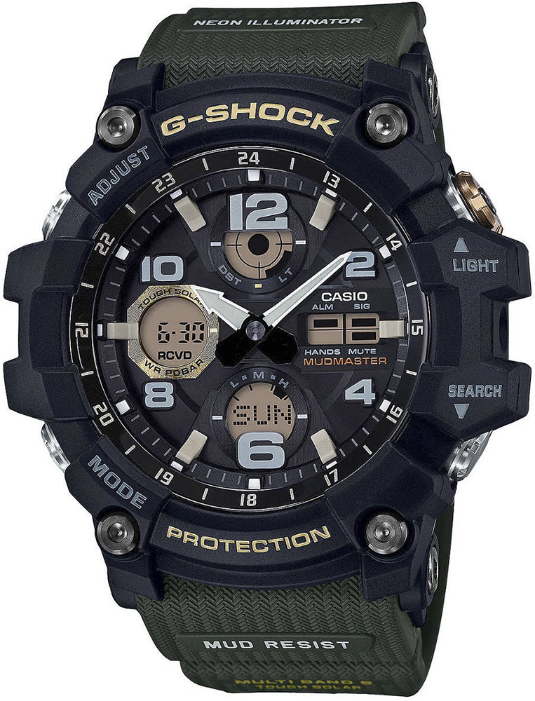 Zegarek męski Casio g-shock master of g GWG-100-1A3ER - duże 1