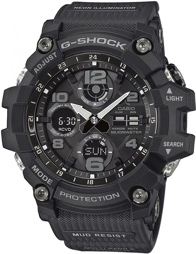 Zegarek męski Casio g-shock master of g GWG-100-1AER - duże 1