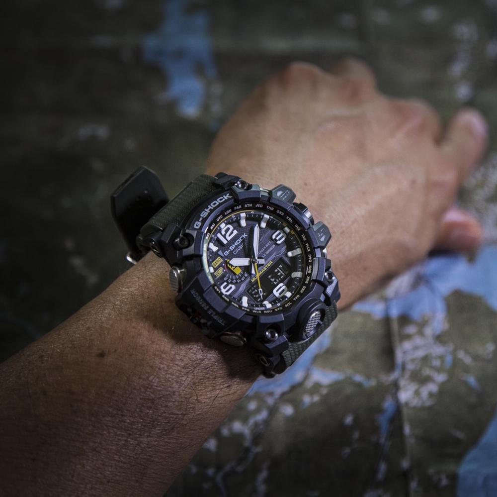 Zegarek męski Casio g-shock master of g GWG-1000-1A3ER - duże 7