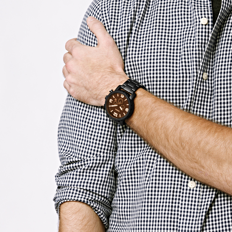 Zegarek męski Fossil trend JR1356 - duże 5