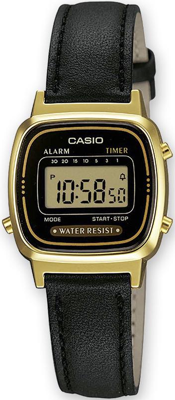 Zegarek damski Casio vintage mini LA-670WEGL-1EF - duże 1